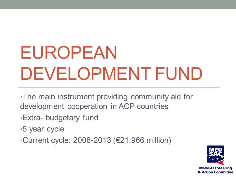 European Development Fund
