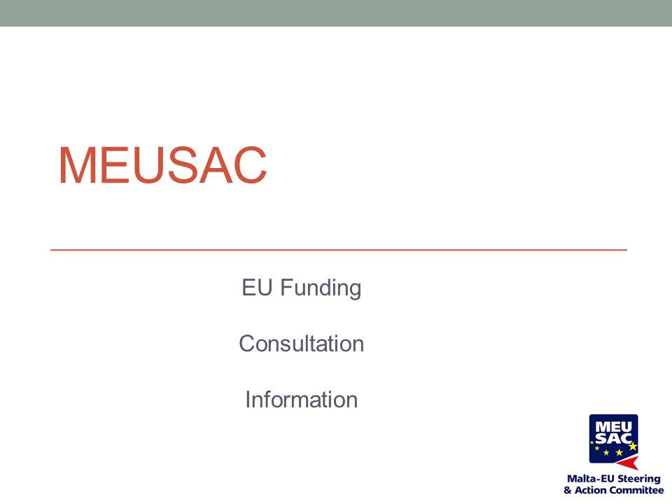 EU Funding Consultation Information
