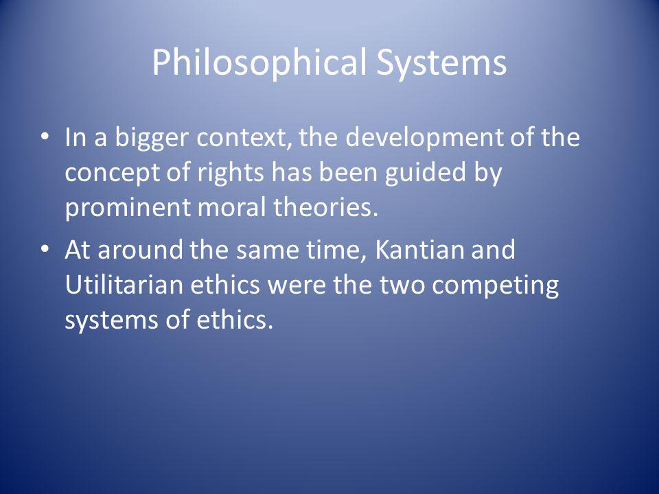 Philosophical Systems