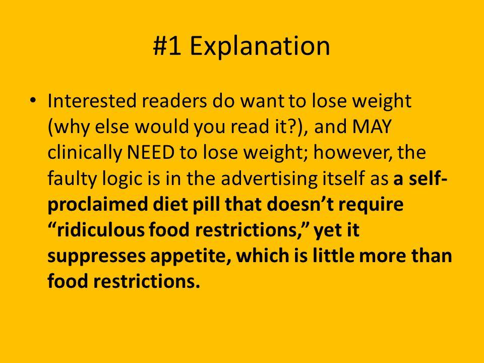 #1 Explanation