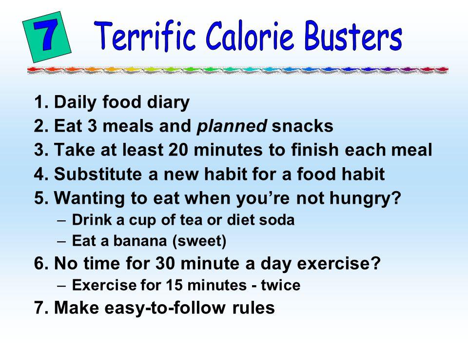 Terrific Calorie Busters
