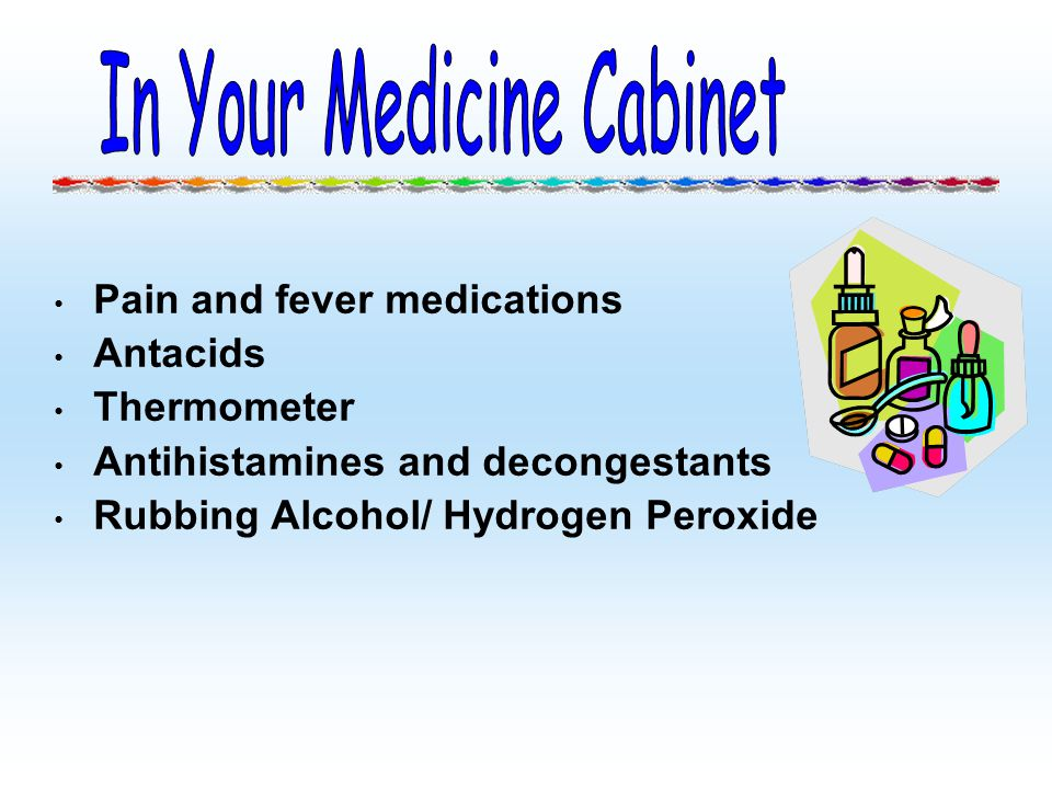 In Your Medicine Cabinet