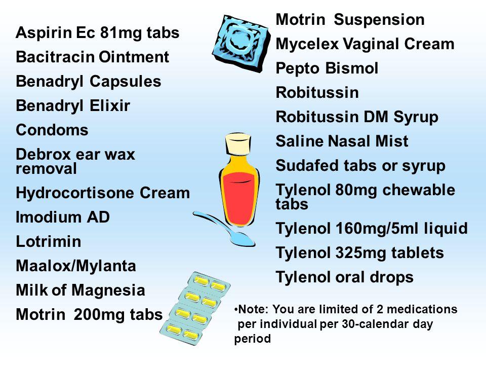 Tylenol 80mg chewable tabs Tylenol 160mg/5ml liquid