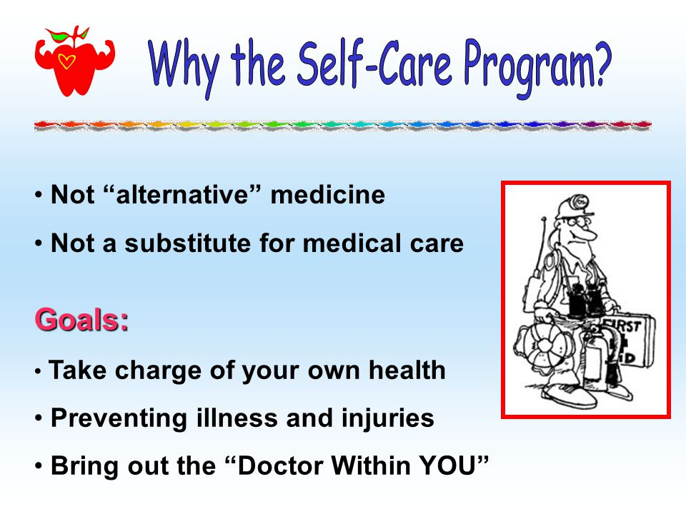Why the Self-Care Program