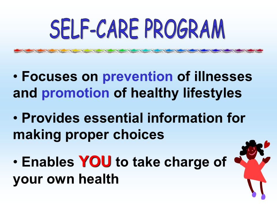Focuses on prevention of illnesses and promotion of healthy lifestyles