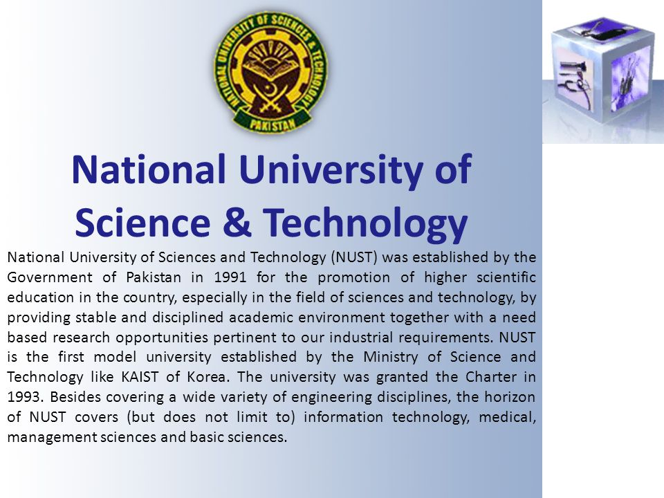 National University of Science & Technology