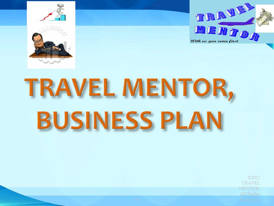 TRAVEL MENTOR, BUSINESS PLAN
