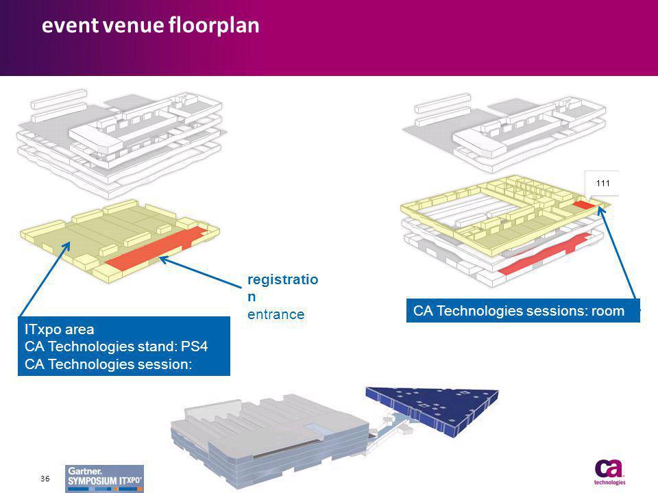 event venue floorplan registration entrance