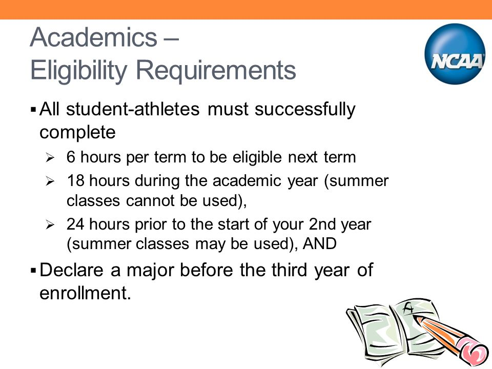 Academics – Eligibility Requirements