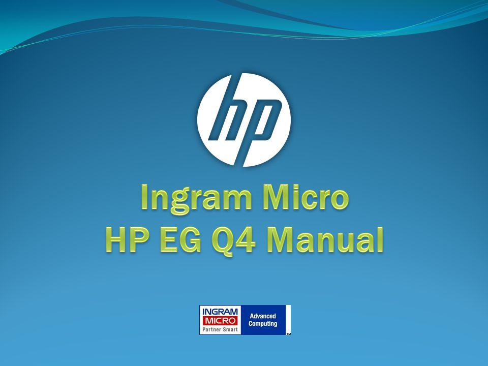 Ingram Micro HP EG Q4 Manual