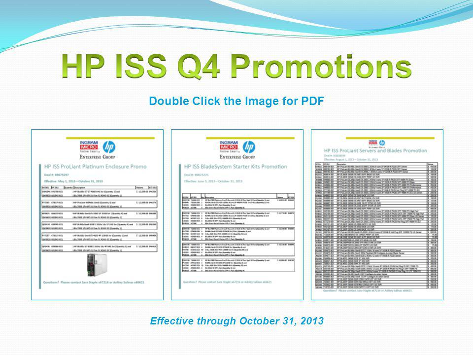 Double Click the Image for PDF Effective through October 31, 2013