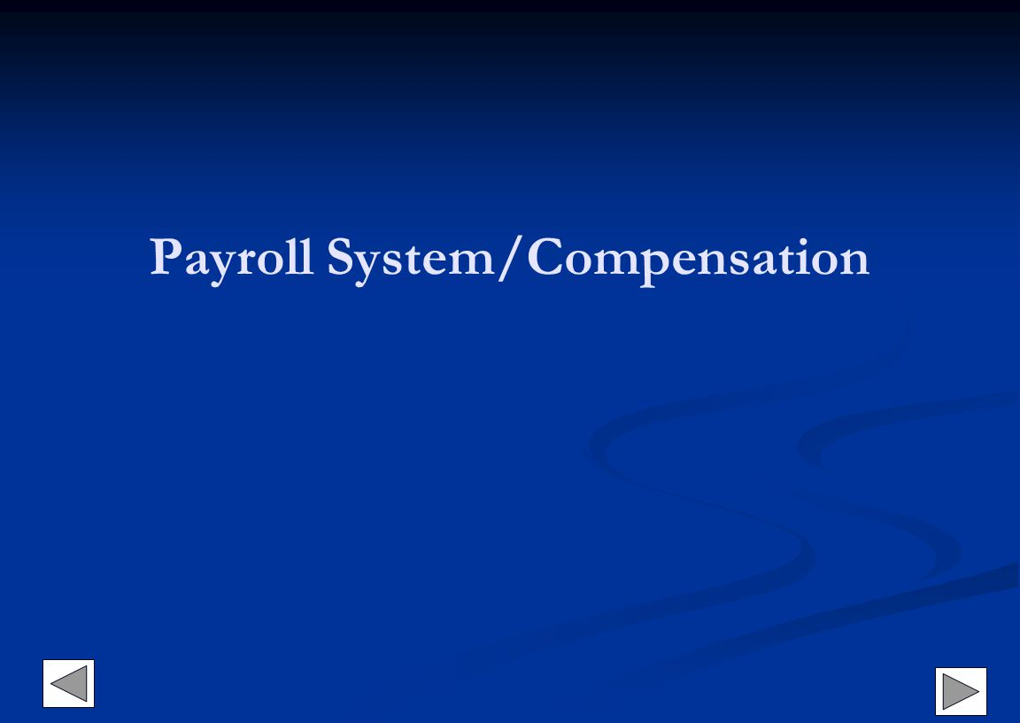 Payroll System/Compensation