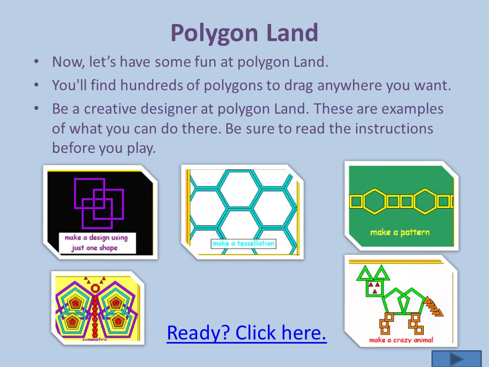 Polygon Land Ready Click here.