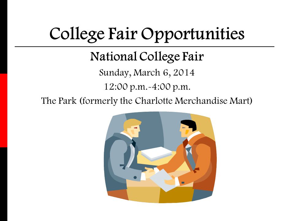 College Fair Opportunities