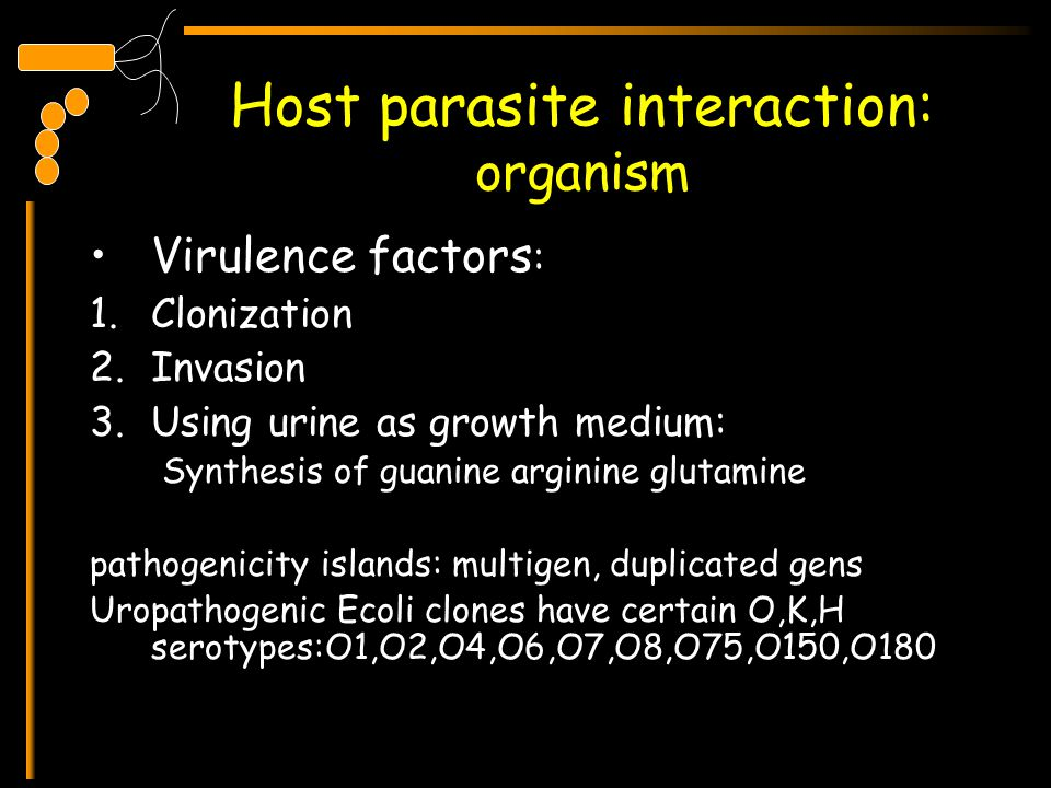 Host parasite interaction: organism