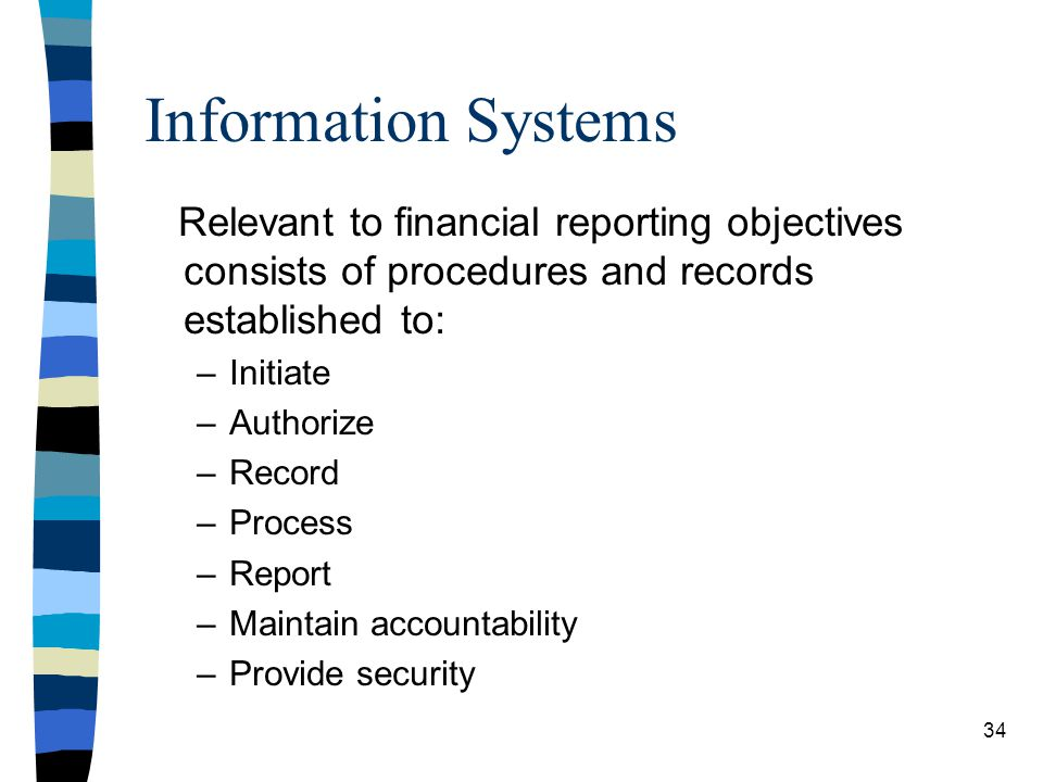 Information Systems Relevant to financial reporting objectives consists of procedures and records established to: