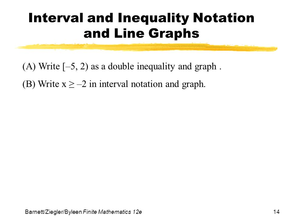 Write an absolute value inequality that represents the given interval.