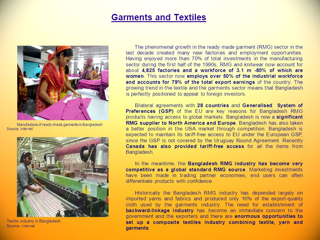 Garments and Textiles