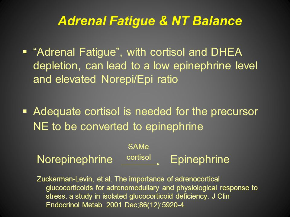 Adrenal Fatigue & NT Balance