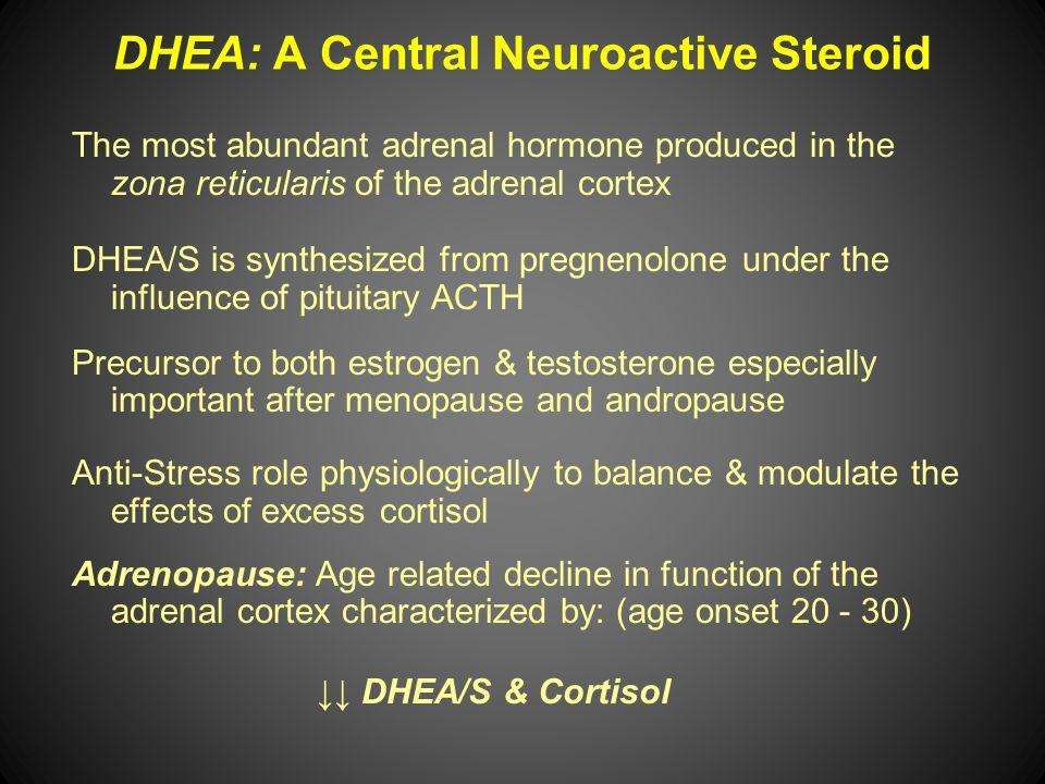 DHEA: A Central Neuroactive Steroid