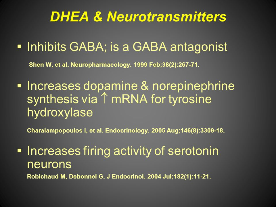 DHEA & Neurotransmitters
