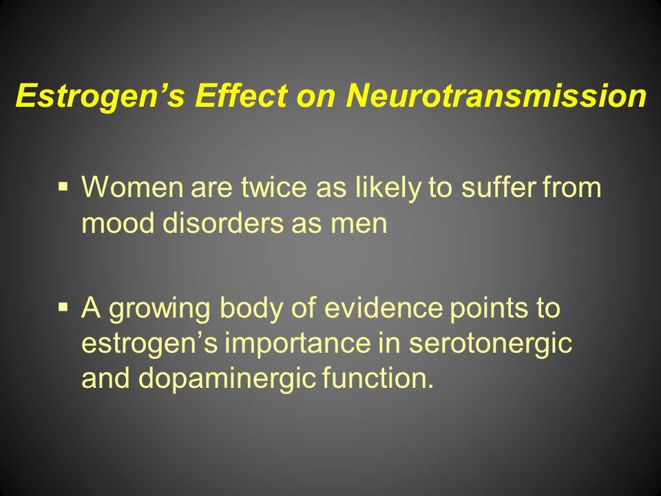 Estrogen's Effect on Neurotransmission