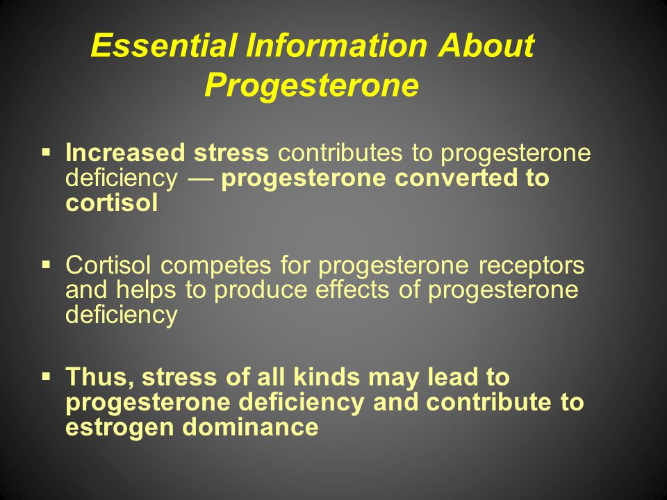 Essential Information About Progesterone