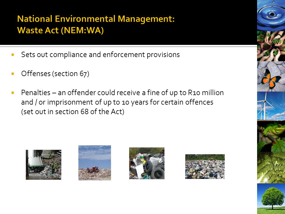 National Environmental Management: Waste Act (NEM:WA)