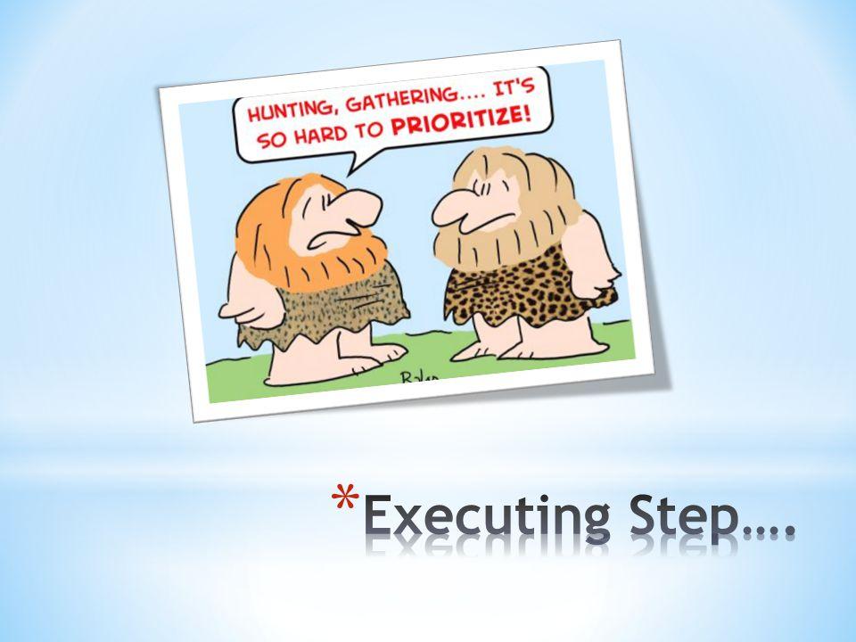 Executing Step….