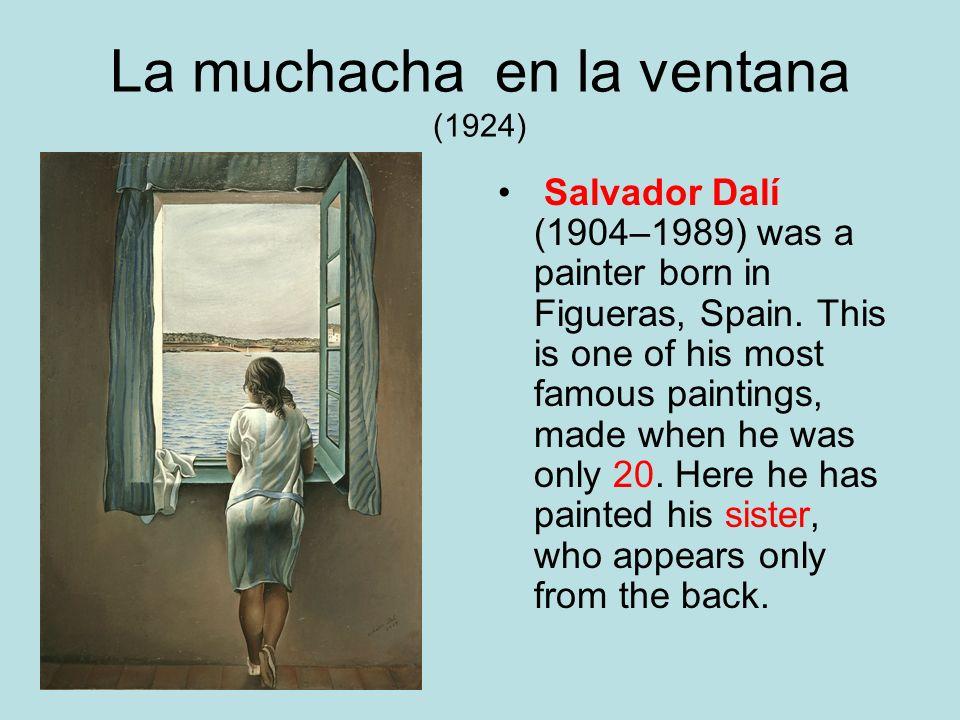La muchacha en la ventana (1924)
