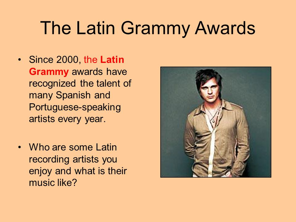 The Latin Grammy Awards