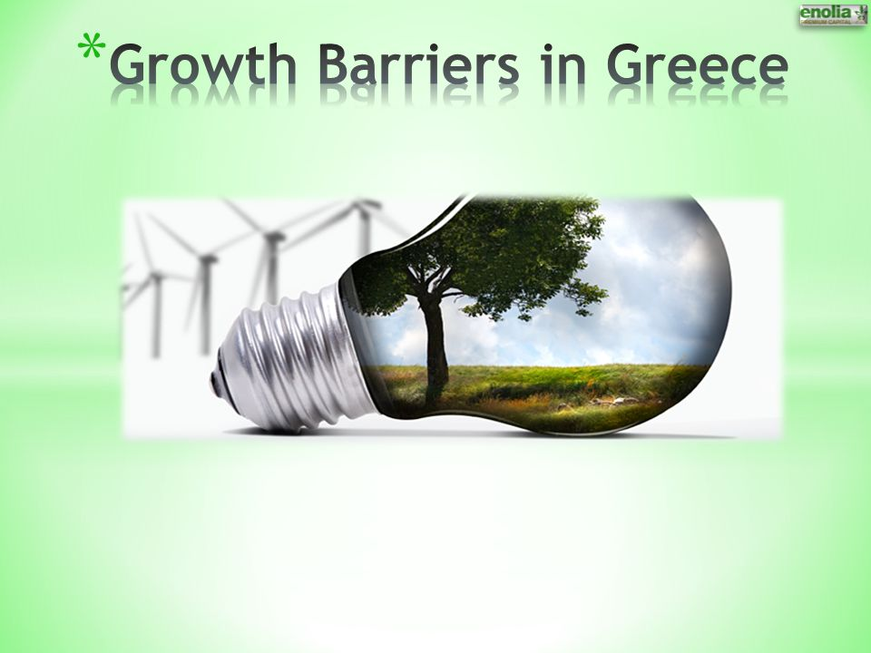 Growth Barriers in Greece