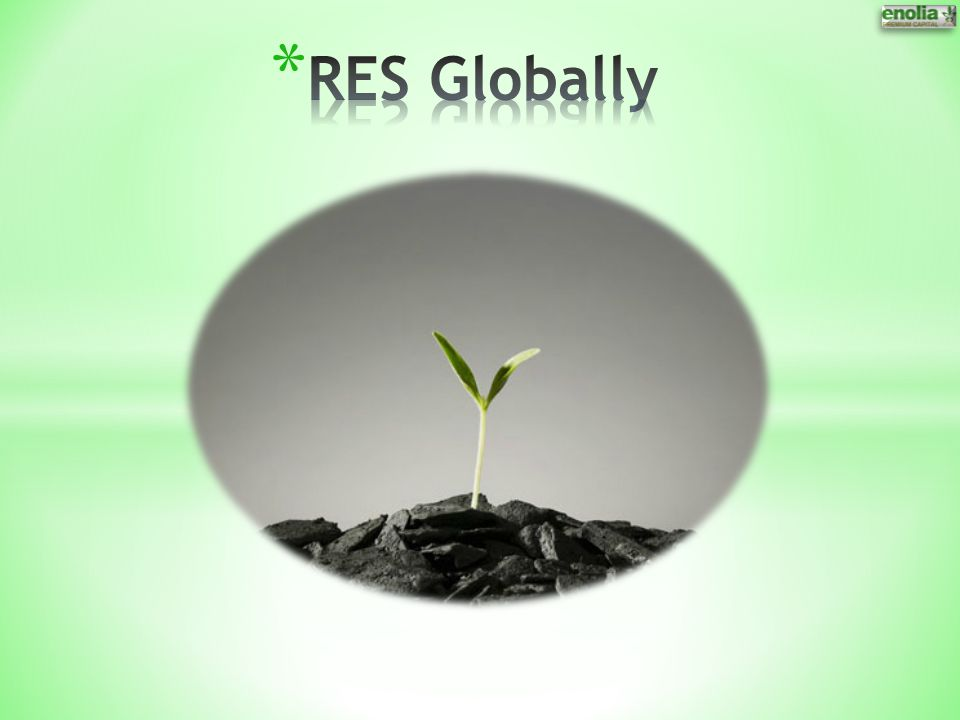 RES Globally