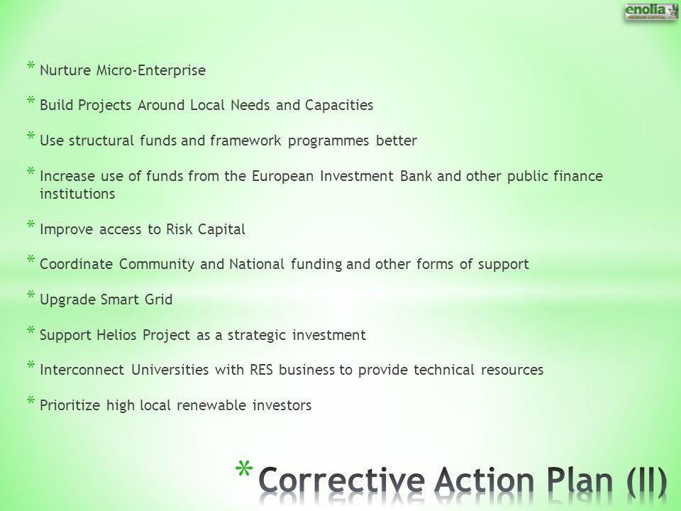 Corrective Action Plan (II)