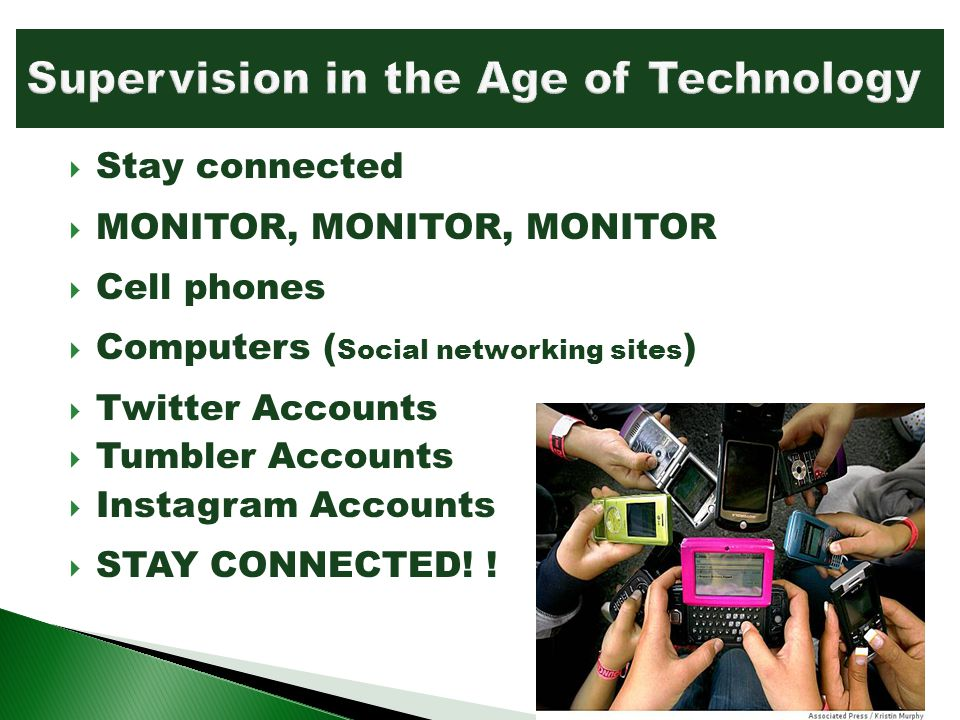 Supervision in the Age of Technology