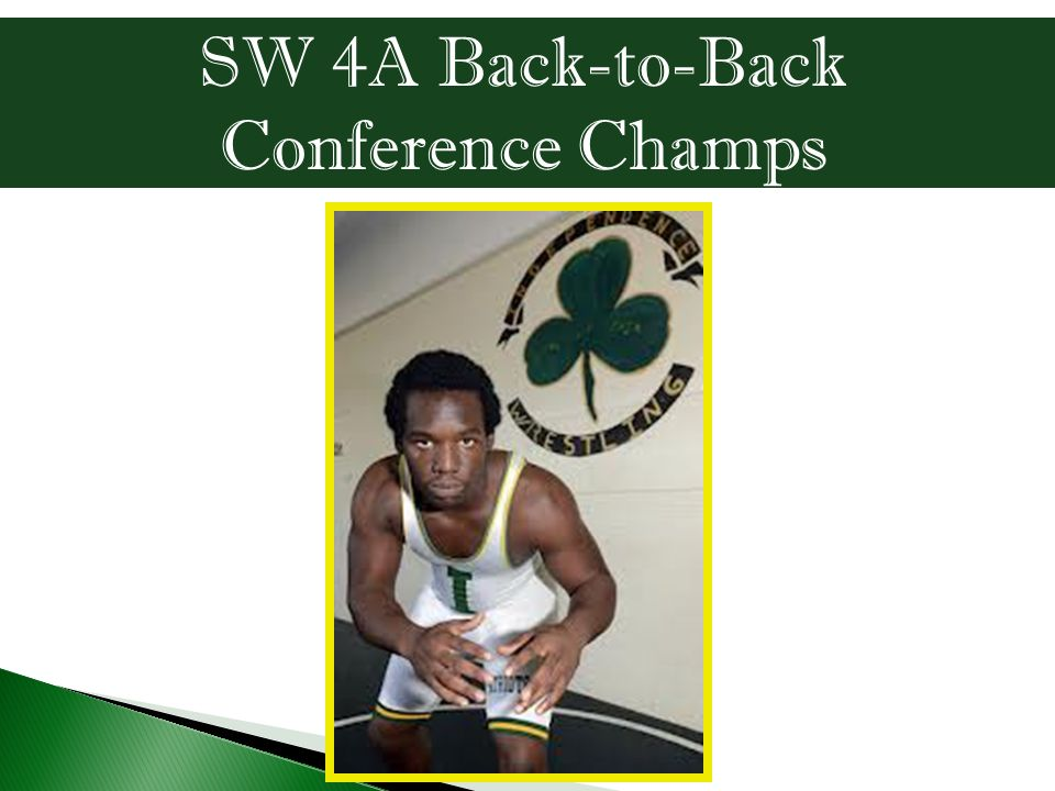 SW 4A Back-to-Back Conference Champs
