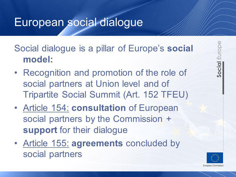 European social dialogue