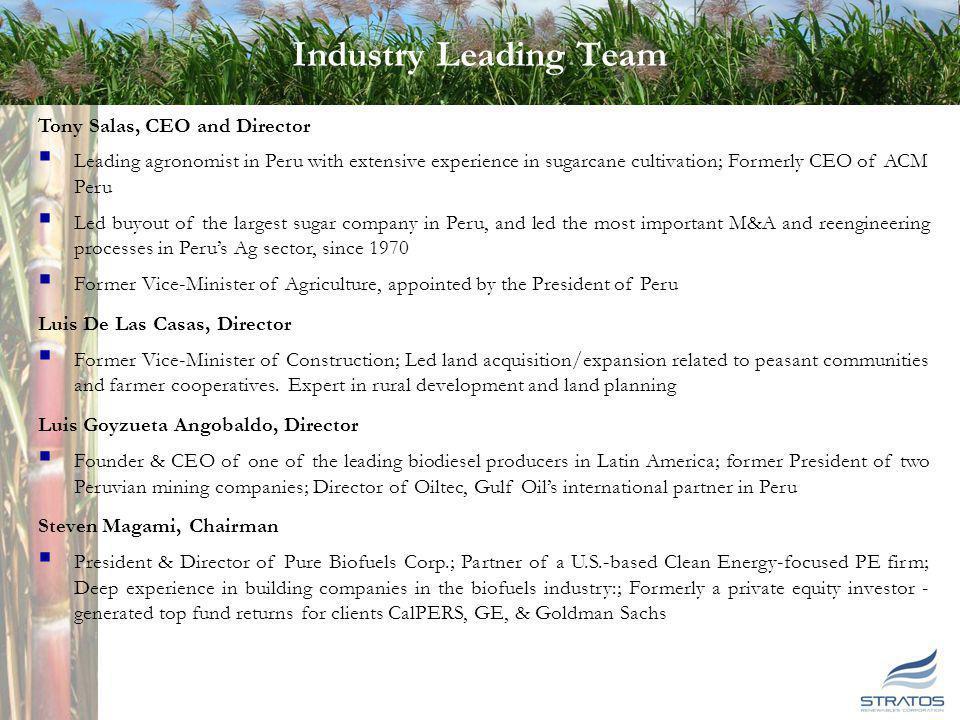 Industry Leading Advisory Board