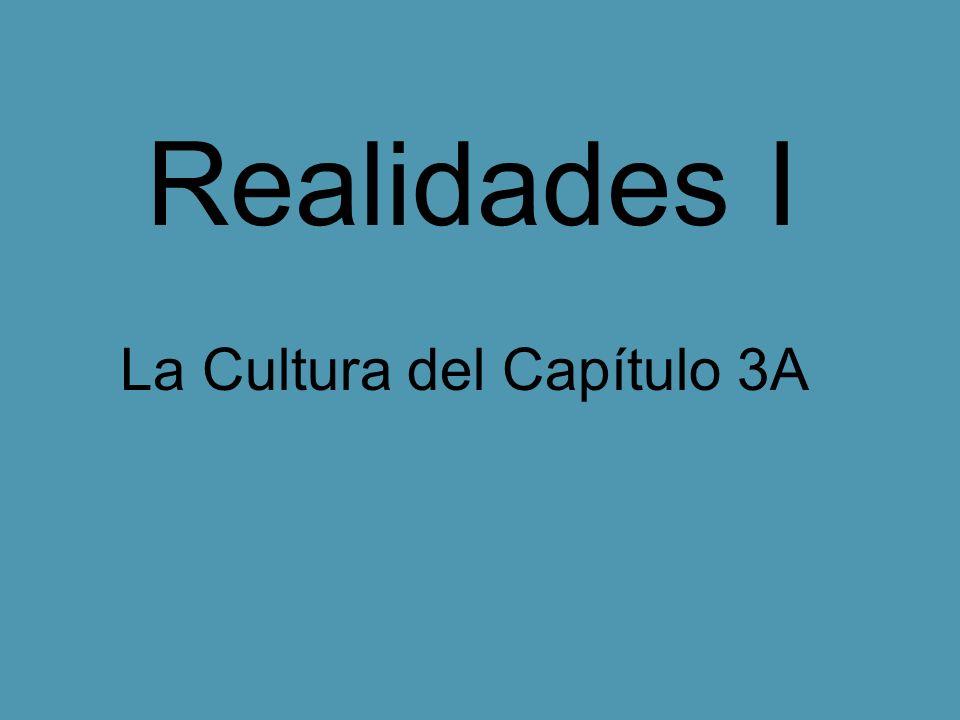 La Cultura del Capítulo 3A