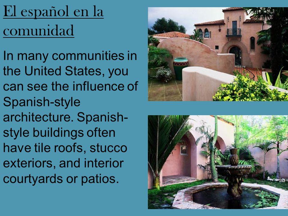 El español en la comunidad