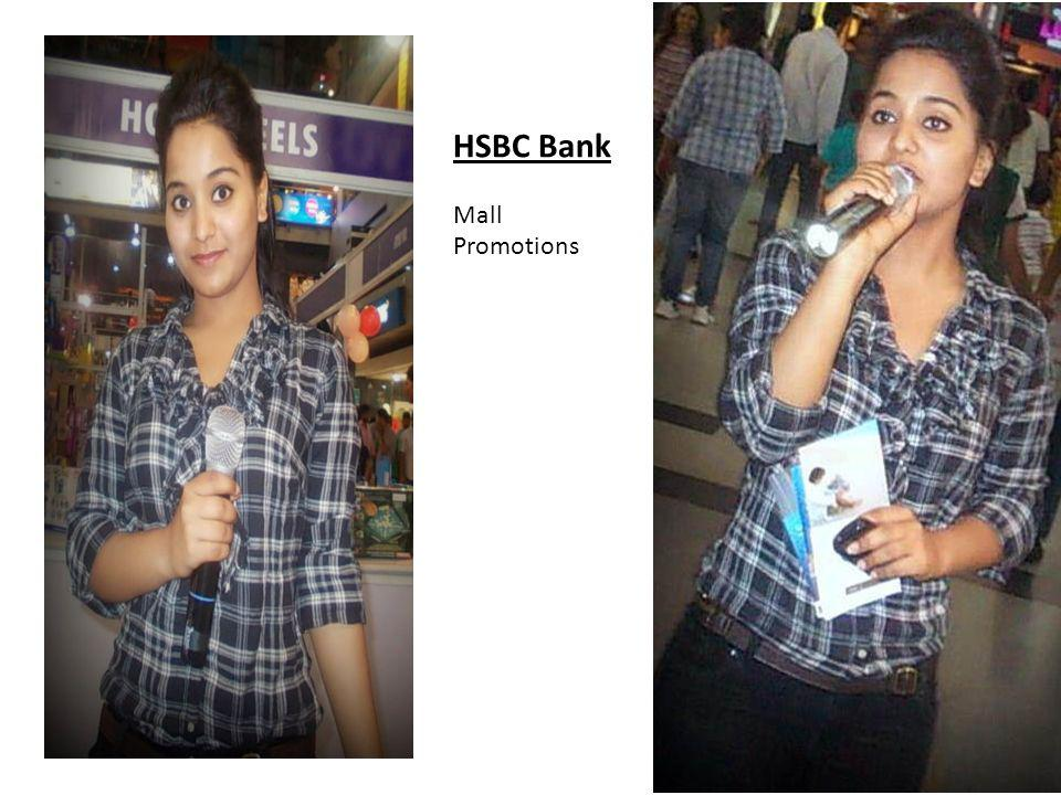HSBC Bank Mall Promotions