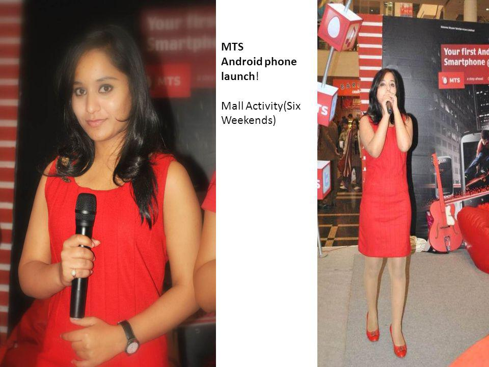 MTS Android phone launch!