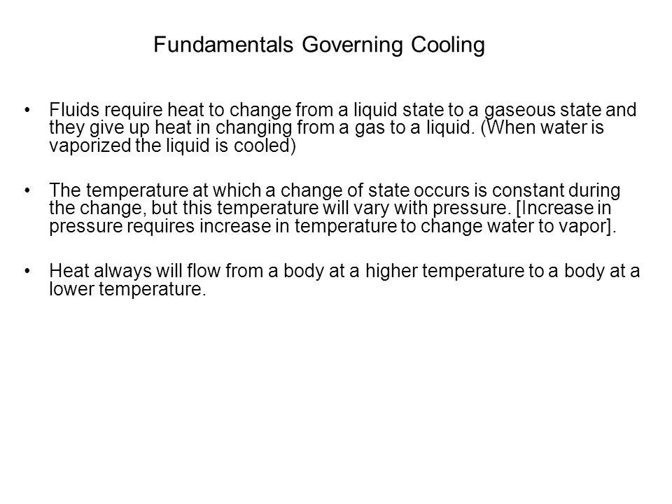 Fundamentals Governing Cooling