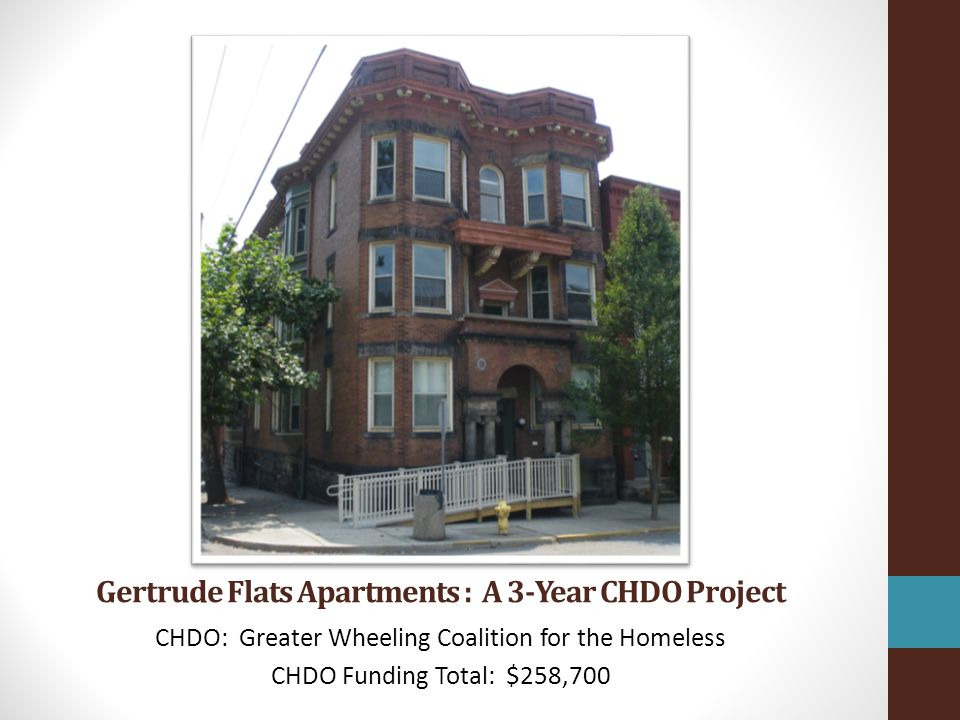 Gertrude Flats Apartments : A 3-Year CHDO Project