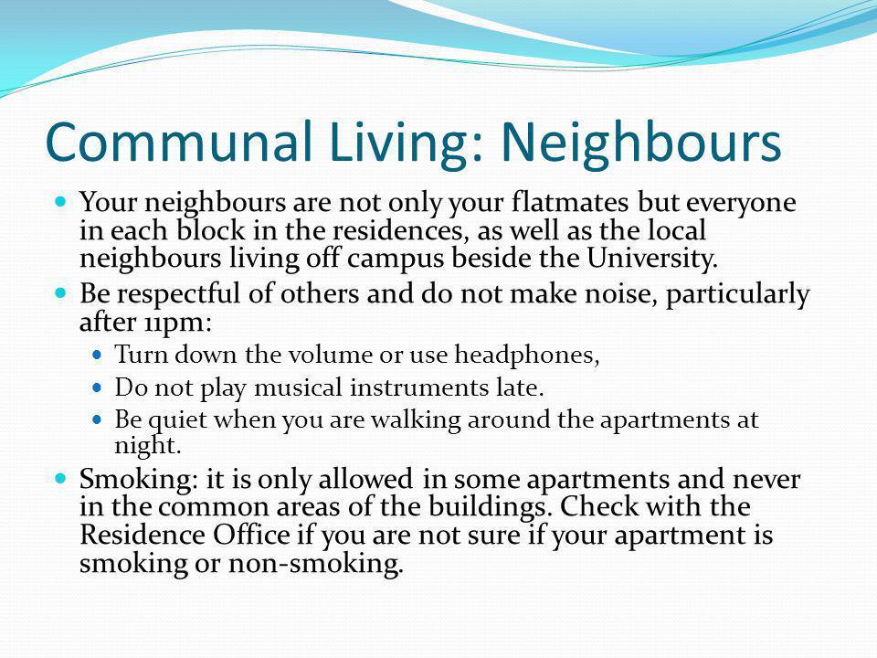 Communal Living: Neighbours