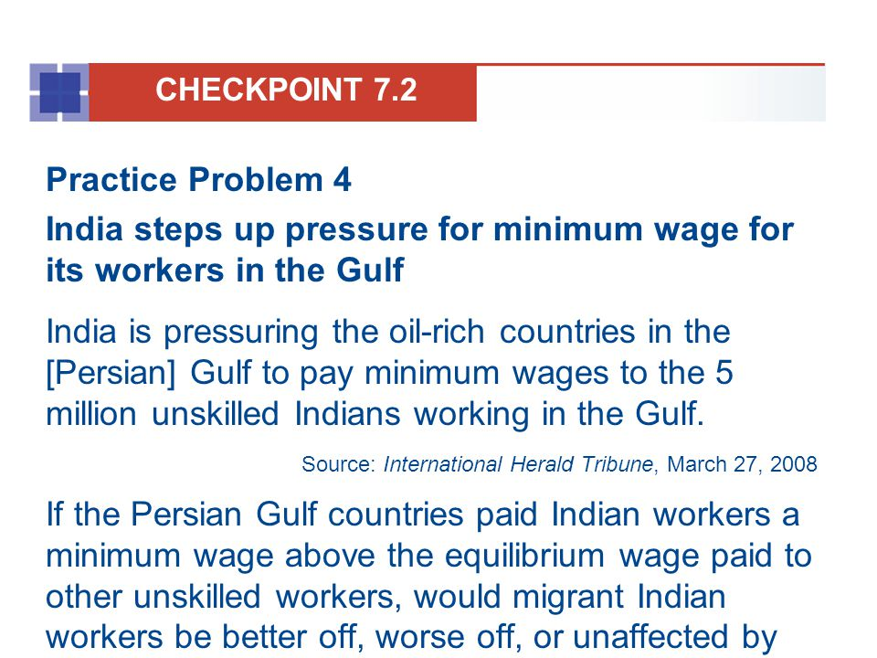 India steps up pressure for minimum wage for its workers in the Gulf