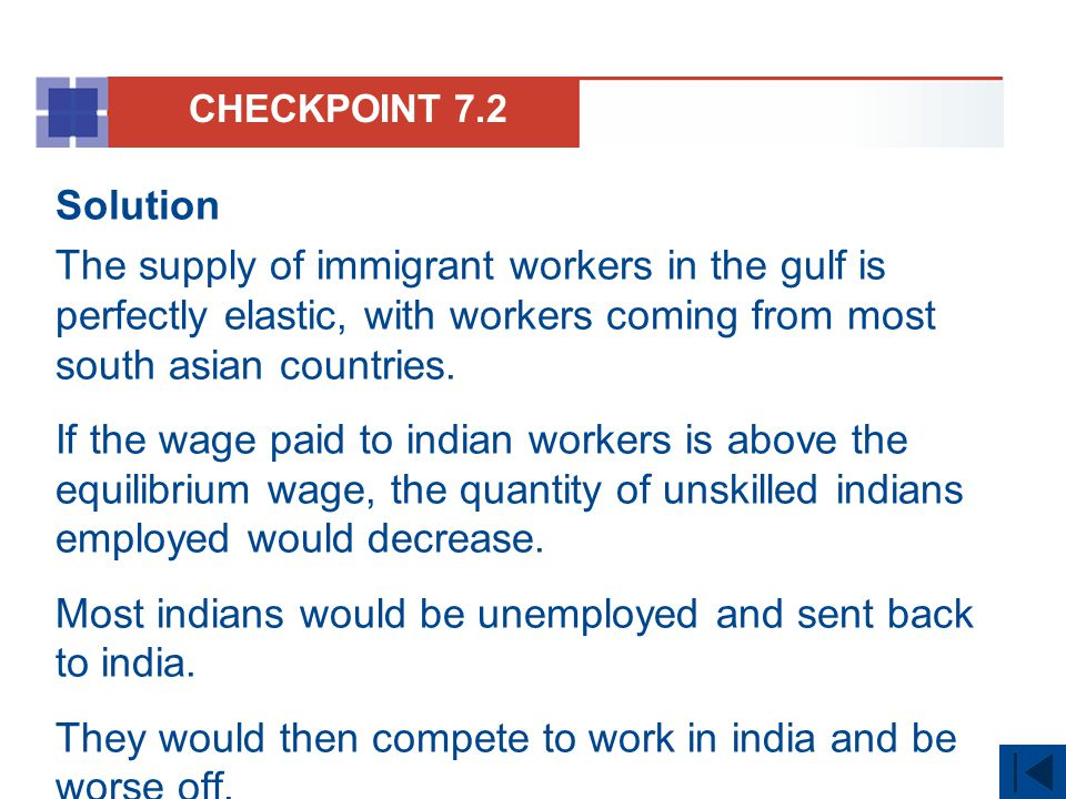 Most indians would be unemployed and sent back to india.