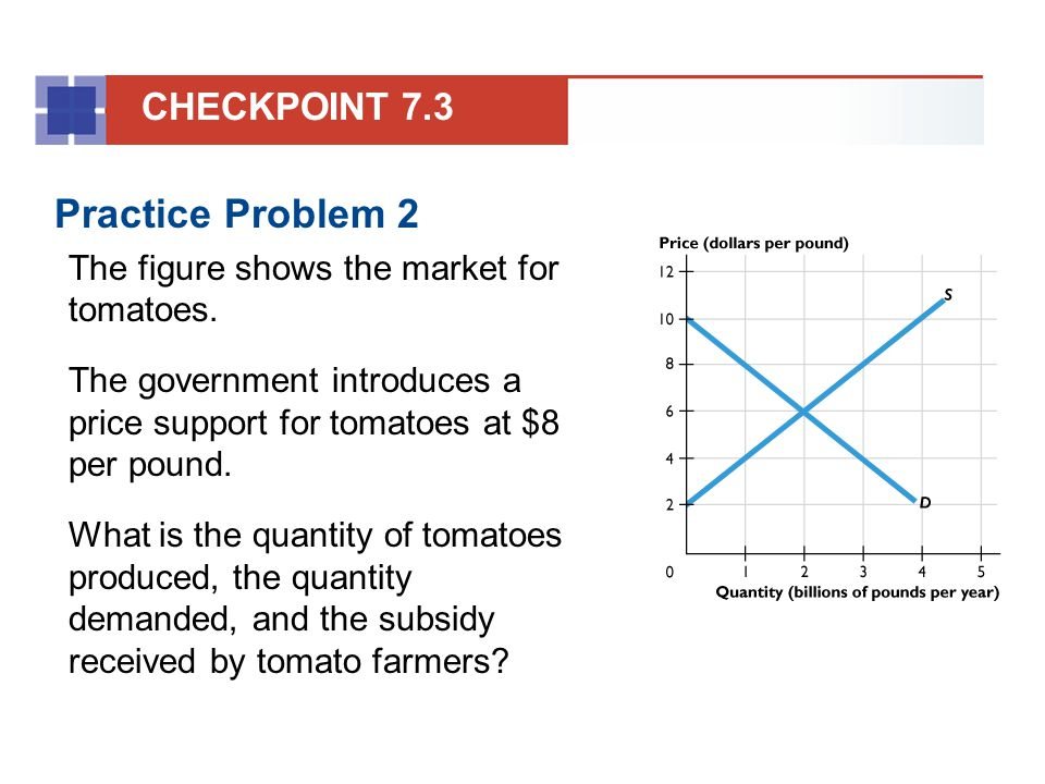 Practice Problem 2 CHECKPOINT 7.3