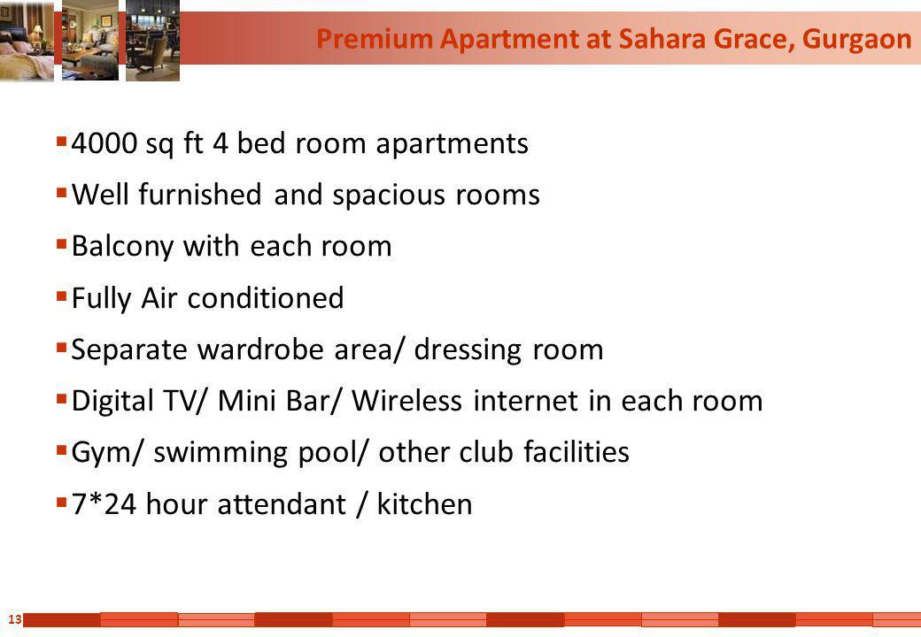 Premium Apartment at Sahara Grace, Gurgaon