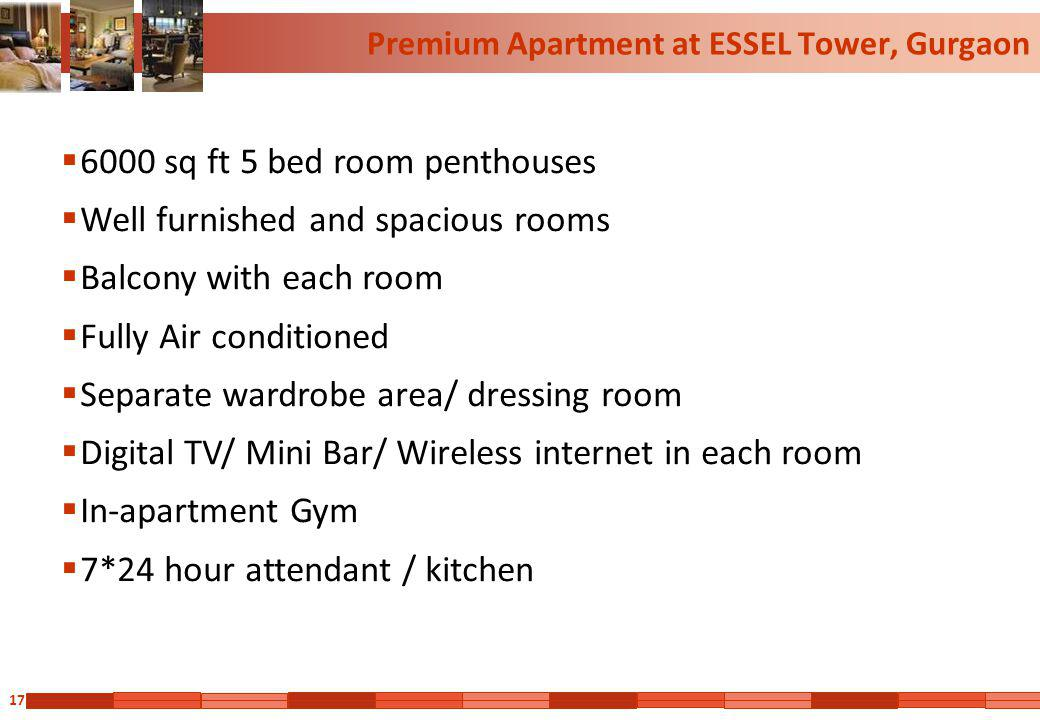 Premium Apartment at ESSEL Tower, Gurgaon